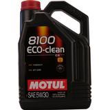 Biludstyr Motul 8100 Eco-Clean 5W-30 5L Motorolie