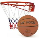Basketkurv - Indendørs My Hood Basketball Basket with Ball