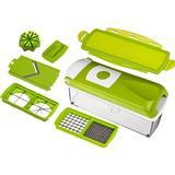 Inklusiv beholder Køkkenudstyr Tvins Nicer Dicer Plus - Grøntsagssnitter Grøntsagshakker