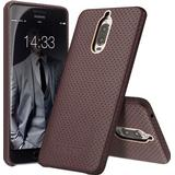 Mobiltelefon tilbehør Qialino Perforated Leather Back Case (Mate 9 Pro)