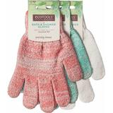 Skrubbehandske EcoTools Bath Shower Gloves 3-pack
