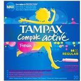 Tamponer Tampax Compact Active Fresh Regular 20-pack