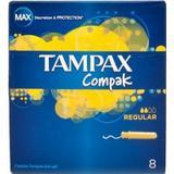 Hygiejneartikler Tampax Compak Regular Tamponer 8-pack
