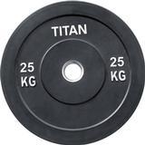 Vægtskiver Titan Fitness Box Crossfit Bumper Plate 2x25kg