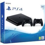 2 spilcontrollere Spillekonsoller Sony PlayStation 4 Slim 500GB - 2x DualShock 4 V2