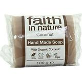 Kropssæbe Kropssæbe Faith in Nature Coconut Soap 100g