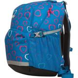 Barn Tasker Bergans 2GO 24L - Light Sea Blue Hearts