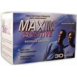 Deodorant Maxim Antiperspirant Wipes Sensitive 30-pack