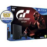 Gran Turismo Sport Spillekonsoller Sony PlayStation 4 Slim 500GB - Gran Turismo Sport