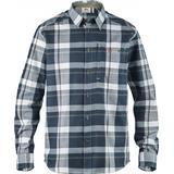 Flanell skjorte Herretøj Fjällräven Fjällglim Shirt - Dark Blue
