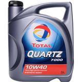 10w40 Biludstyr Total Quartz 7000 10W-40 5L Motorolie