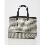 Tote / Shoppingtaske Lala Berlin Kufiya Big Canvas Shopper - Off White