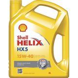 15w40 Biludstyr Shell Helix HX5 15W-40 5L Motorolie