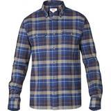 Flanell skjorte Herretøj Fjällräven Singi Heavy Flannel Shirt - Navy