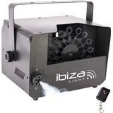 Kombineret røg- og sæbeboblemaskine Ibiza Fog-Bubble400