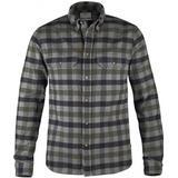 Flanell skjorte Herretøj Fjällräven Skog Shirt - Sort