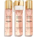 Coco chanel mademoiselle Parfumer Chanel Coco Mademoiselle Twist & Spray EdT 3x20ml Refills