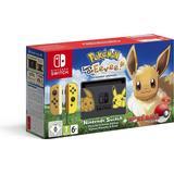 Hybrid Spillekonsoller Nintendo Switch - Yellow - Pokémon: Let's Go, Eevee!