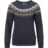 Toppe Dametøj Fjällräven Övik Knit Sweater - Dark Navy