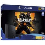 Playstation 4 - 2160p (4k Ultra HD) Spillekonsoller Sony PlayStation 4 Pro 1TB - Call of Duty: Black Ops IIII