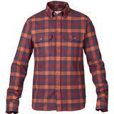 Flanell skjorte Herretøj Fjällräven Skog Shirt - Navy