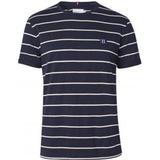 T-Shirt Herretøj Les Deux Betroist T-shirt - Dark Navy/Rose