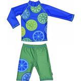 UV tøj Børnetøj Swimpy UV Set - Blue Lemon