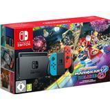 Hybrid Spillekonsoller Nintendo Switch - Red/Blue - Mario Kart 8 Deluxe