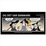 Bøger Og det var Danmark kalender 2020 (Indbundet, 2019)