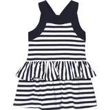 Flæse kjole Børnetøj Mayoral Striped Ruffle Dress - Navy Blue (29-03954-056)