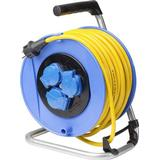 El-Artikler as - Schwabe 11005 3-way 50m Cable Drum