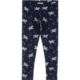 Børnetøj BlueZoo Girl's Sparkle Unicorn Print Leggings - Navy (2320207231-43)