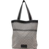 Tote / Shoppingtaske Lala Berlin Carmela Kufiya - Off-White/Black