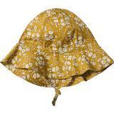 Børnetøj Huttelihut Tana Lawn Yvonne Sun Hat - Capel/Mustard (433215)