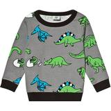 Sweatshirt Børnetøj Småfolk Dino Sweatshirt - Wilde Dove (91-2402)