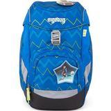 Blå Tasker Ergobag Prime School Backpack - LiBearo 2:0