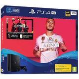 Playstation 4 - 2160p (4k Ultra HD) Spillekonsoller Sony PlayStation 4 Pro 1TB - FIFA 20 Bundle