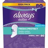 Hygiejneartikler Always Fresh & Protect Normal 80-pack