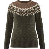 Toppe Dametøj Fjällräven Övik Knit Sweater - Deep Forest