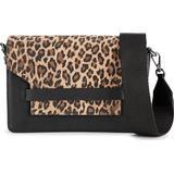 Tasker Markberg Arabella Crossbody Bag - Black w Printed Leopard