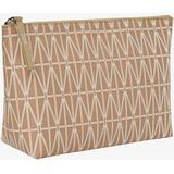 Tasker Dagmar Harriot Wash Bag - Brown