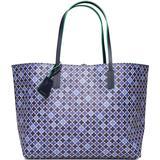 Plastik Tasker By Malene Birger Flora Tote - Bay Blue