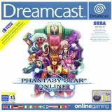 Dreamcast spil Phantasy Star Online