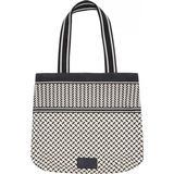 Håndtasker Lala Berlin Carmela Kufiya Tote Bag - Off White/Black