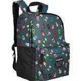 Tasker Minecraft Bobble Mobs Backpack - Grey