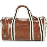 Tasker Fred Perry Classic Barrel Bag - Tan/Ecru