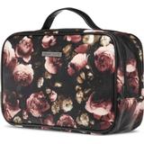 Tasker Gillian Jones Toilet Bag - Black / with Flowers