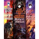 Science Fiction & Fantasy Bøger The Wheel of Time, Boxed Set II, Books 4-6: The Shadow Rising, the Fires of Heaven, Lord of Chaos (Pocket, 2005), Pocket