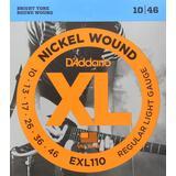 Tilbehør til musikinstrumenter D'Addario EXL110