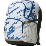 Børnetaske Bergans 2GO Backpack 32L - White/Athens Blue Triangle